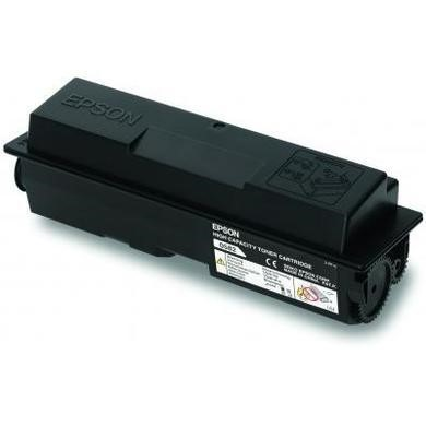 C13S050584 Epson - Toner cartridge - high capacity - 1 x black - 8000 pages - Epson Return Program