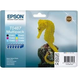 Epson Multipack T0487 - print cartridge