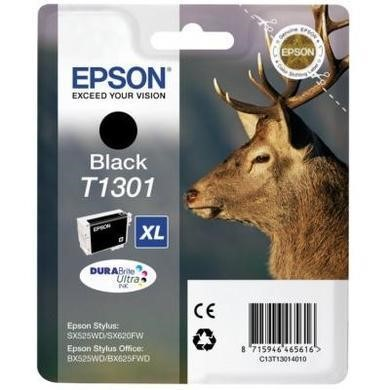 Epson T1301 - Print cartridge - 1 x black