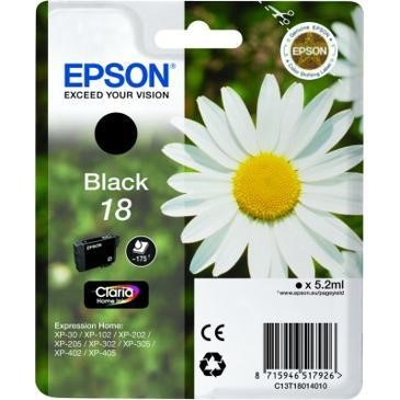 18 Daisy Black Ink Cartridge RS Blister