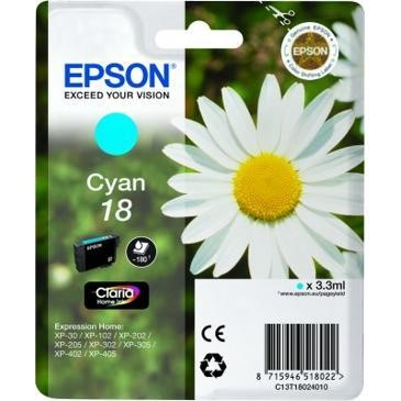 18 Daisy Cyan Ink Cartridge RS Blister