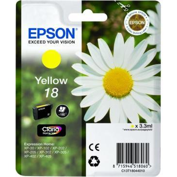 18 Daisy Yellow Ink Cartridge RS Blister