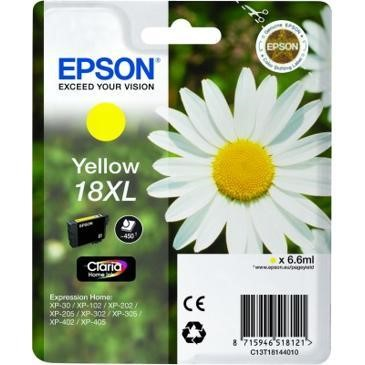 18xl Daisy Yellow Ink Cartridge RS Blister