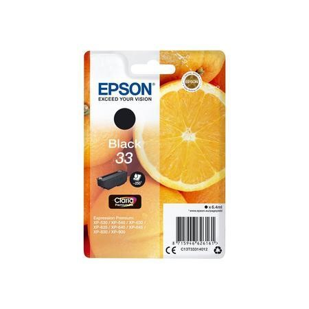 Epson T333140 33 Black Ink Cartridge