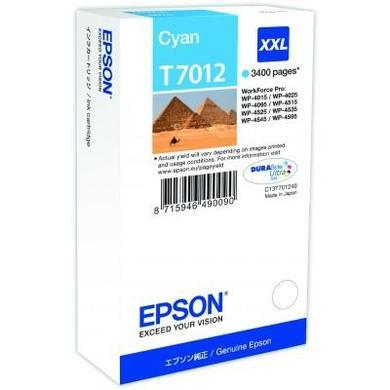 Ink Cartridge xxl Cyan 3.4k