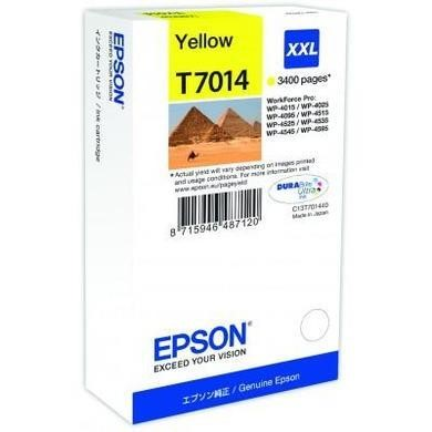 INK CARTRIDGE XXL YELLOW 3.4K