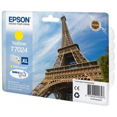Epson T702440 Yellow Ink XL Cap 2k Page