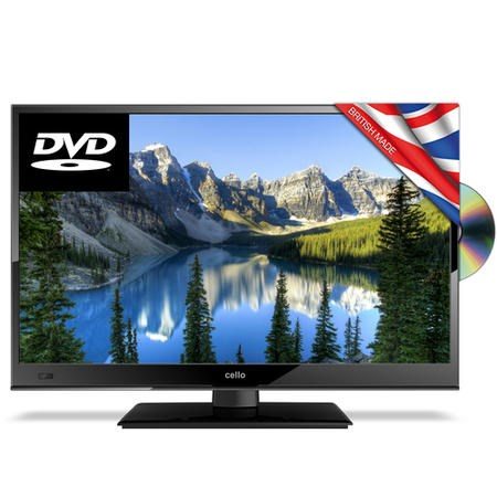 "Cello C16230FT2 16"" HD Ready LED TV and DVD Combi with Freeview HD"