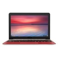 ASUS C201PA 4GB 16GB 11.6 Inch Chrome OS Chromebook Laptop - Gold/Red