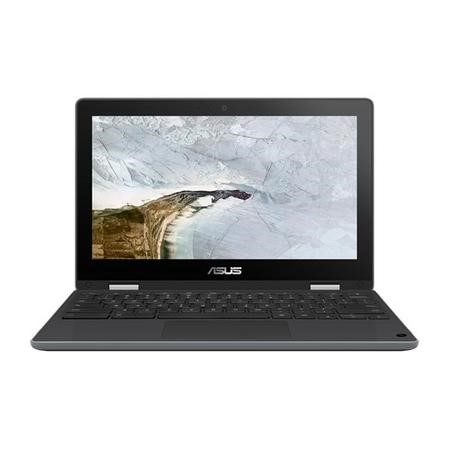 Asus Flip C214MA Celeron N4000 4GB 32GB eMMC 11.6 Inch Anti-Glare Display Touchscreen Convertible Chromebook