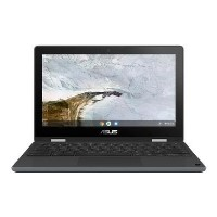 Asus Flip C214MA Celeron N4000 4GB 32GB eMMC 11.6 Inch Glossy Display Touchscreen Convertible Chromebook