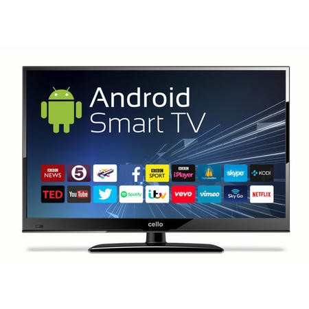 "Cello C24ANSMT 24"" 720p HD Ready LED Smart TV with Android and Freeview HD"