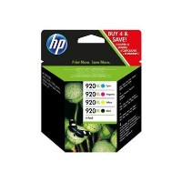 HP 920XL CMYK INK CART COMBO PACK