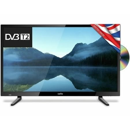 "C32227FT2 Cello 32"" 720p HD Ready TV with Built-in DVD Player and Freeview HD"