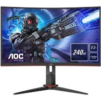 "AOC C32G2ZE/BK 31.5"" Full HD 240Hz Curved Monitor"