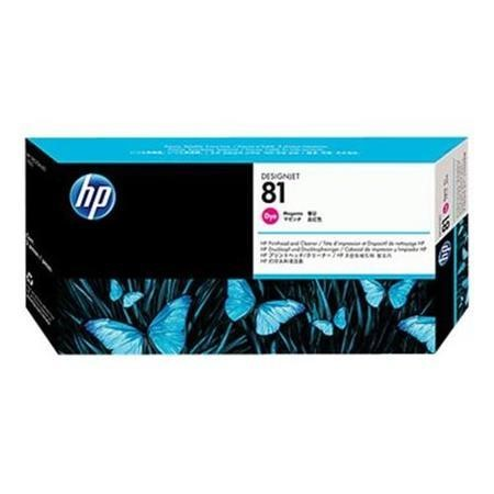HP printhead with cleaner