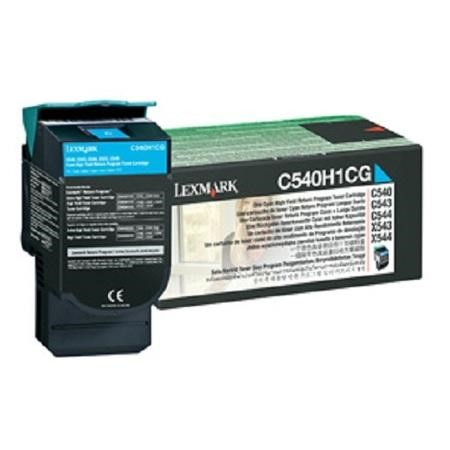 Lexmark Toner cartridge - High Yield - 1 x cyan - 2000 pages