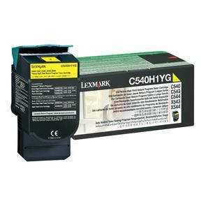 Lexmark Toner cartridge - High Yield - 1 x yellow - 2000 pages