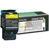 Lexmark Yellow Extra High Yield Return Program Toner Cartridge (4000 Pages) C544dn / C544dtn / C544dw / C544n
