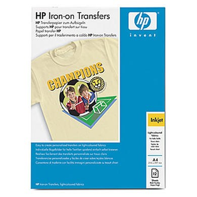 HP - iron-on transfers - 10 pcs.