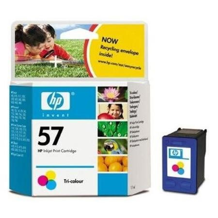 HP No.57 Tri-Colour Ink Cartridge  Cyan Magenta and Yellow
