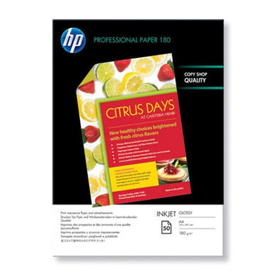 HP - glossy paper - 50 sheet(s)