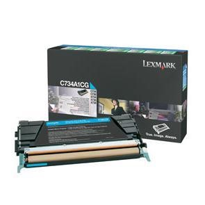 C734 C736 X734 X736 X738 Cyan Return Program Toner Cartridge