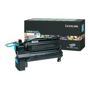 Lexamrk C792 Cyan Extra High Return Prog CA
