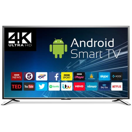 "Cello C85ANSMT-4K 85"" 4K Ultra HD LED Android Smart TV"
