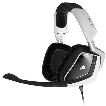 GRADE A1 - Corsair VOID RGB USB Dolby 7.1 Gaming Headset in White