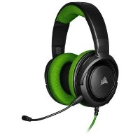 Corsair  3.5mm HS35 Stereo Green  - Gaming Headset