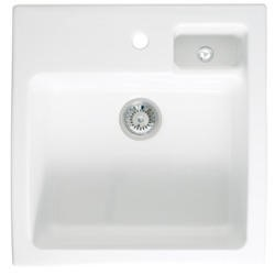 Astracast CA15WHHOMESK Canterbury 1.5 Bowl Ceramic Sink - White