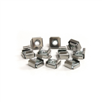 50 Pkg M6 Cage Nuts for Server Rack Cabinets