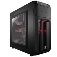Corsair Carbide Series Red LED Mid-Tower Gaming Case