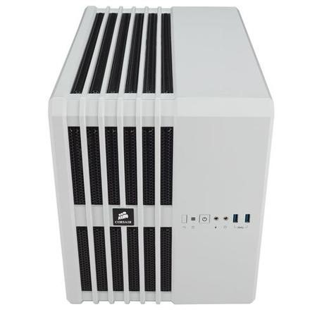 Corsair Carbide Series Air 240 Arctic White High Airflow MicroATX and Mini-ITX PC Case