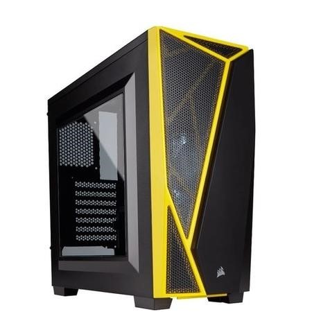 Corsair Carbide Series SPEC-04 Mid-Tower Gaming Case - Black/Yellow