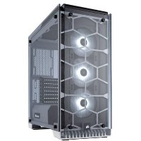 Corsair Crystal Series 570X RGB ATX Mid-Tower Case - White