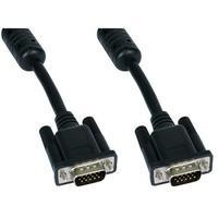 Cables Direct 2m SVGA M - All Lines Connected in Black