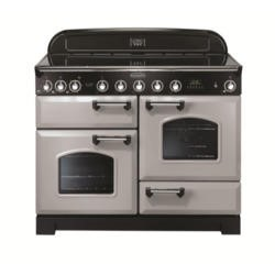 Rangemaster 100660 Classic Deluxe 110cm Electric Range Cooker with Ceramic Hob - Royal Pearl