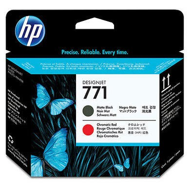 Hewlett Packard HP 771 - Printhead matte black chromatic red