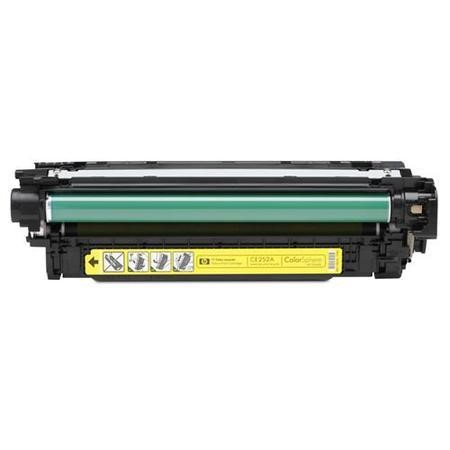 HP CE252A - toner cartridge - yellow