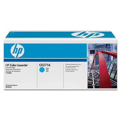 HP Color LaserJet CE271A Cyan Print Cartridge