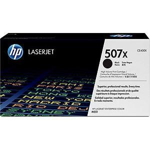 Hewlett Packard HP Toner/507X Black LaserJet Toner Cart