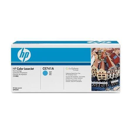 HP Color LaserJet CE741A Cyan Print Cartridge