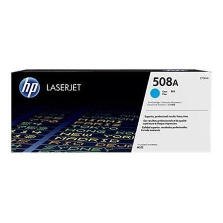 Hewlett Packard TONER CARTRIDGE 508A CYAN
