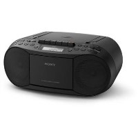 Sony Boombox AM/FM Radio and CD Player with MP3 Playback - Black