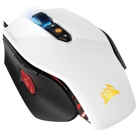 Corsair M65 Pro RGB FPS Gaming Mouse in White