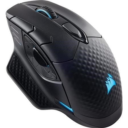 Corsair Dark Core RGB SE Performance Wired/Wireless Gaming Mouse with Qi Wireless Charging