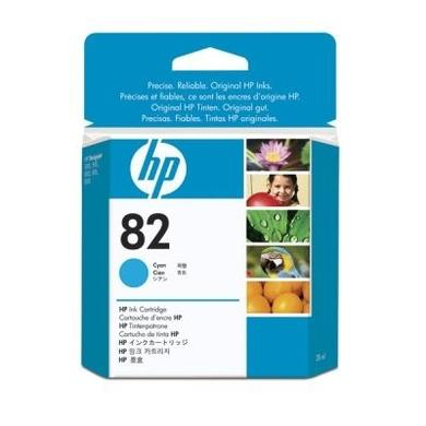 HP 82 - Print cartridge - 1 x cyan
