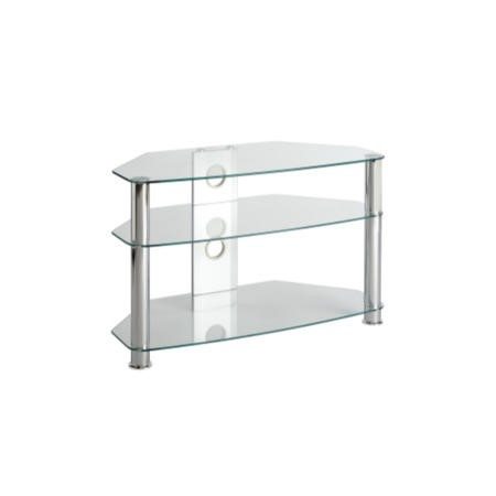 MMT CL800 Glass TV Stand - Up to 37 Inch